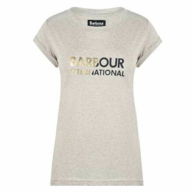 Barbour International Doran Logo T Shirt