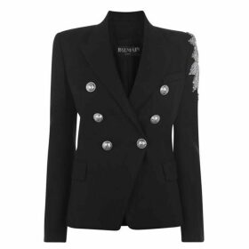 Balmain Button Embroidered Blazer