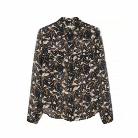 Clotilda Printed Shirt with Long Sleeves