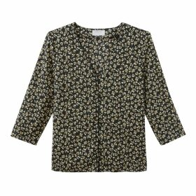 Charles V-Neck Printed Shirt