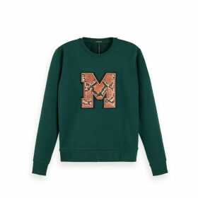 Chest Patch Sweatshirt