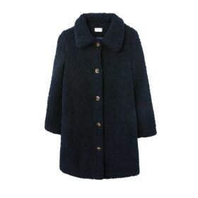 Caline Long Buttoned Coat