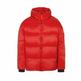 Mika Mat Padded Puffer Jacket with Hood
