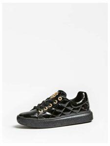 Guess Becks Patent-Look Sneakers