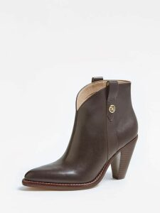 Guess Garrie Leather Texan Low Boot