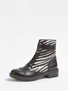 Guess Haleigha Animalier Stud Low Boot
