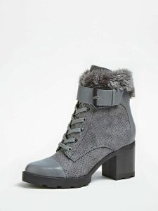 Guess Meggan Low Boot With Rhinestones