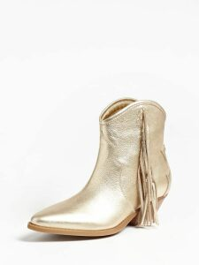 Guess Namia Laminated Leather Low Boot