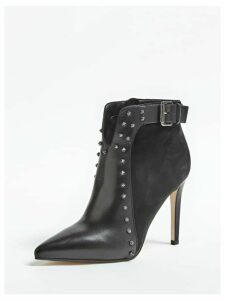 Guess Oralie Leather And Suede Ankle Boot