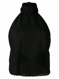 Maison Martin Margiela Pre-Owned 2000's pleated top - Black