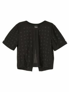 The Upside perforated T-shirt - Black