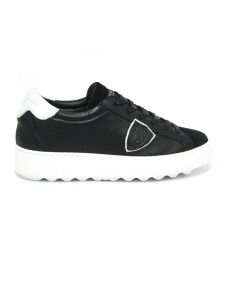 Philippe Model Black Leather Madeleine Sneaker