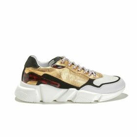 Oregon Leather Mix Trainers