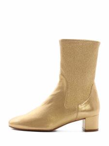 Stuart Weitzman Ernestine Boot Gold