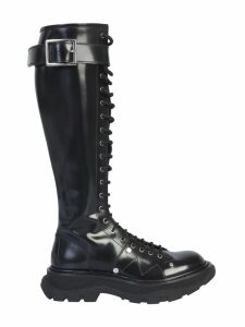Alexander McQueen Boot With Laces