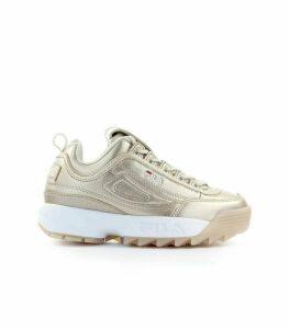 Fila Disruptor M Low Wmn Gold Sneaker