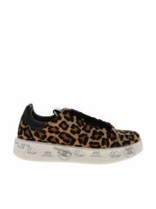 Premiata Conny Leopard Sneakers
