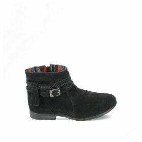 Dixon Suede Western Boots