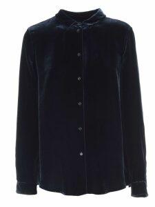 Aspesi Shirt L/s Velvet W/collar