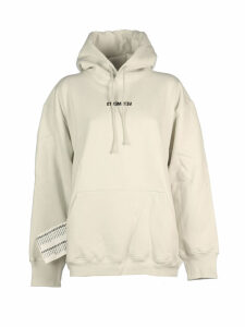 VETEMENTS Inverted Logo Drawstring Hoodie