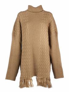 VETEMENTS Scarf Turtle Neck Sweater