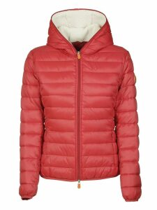 Save the Duck Zip Hood Reversible Effect Padded Jacket