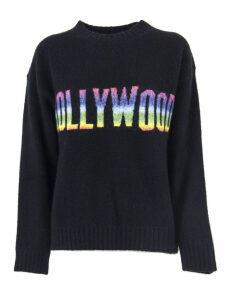 Laneus Black Silk And Cashmere Blend Sweater