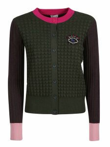 Kenzo Eye-embellished Button Cardigan
