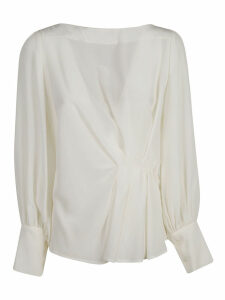 LAutre Chose Long-sleeve Ruffled Detail Blouse