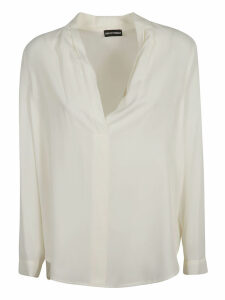 Emporio Armani Button-less Placket Shirt