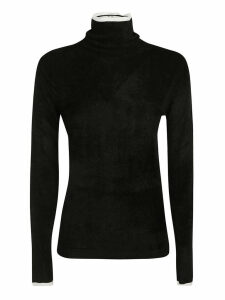 Emporio Armani High Neck Long-sleeve Top