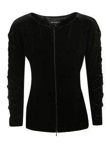 Emporio Armani Concealed Zipped Cardigan