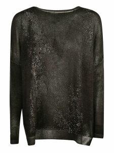 Avant Toi Embellished Semi-glittery Top