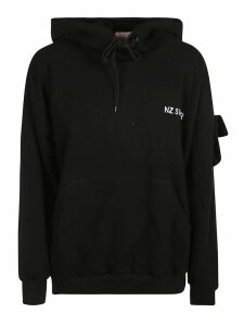 Natasha Zinko Cotton-hooded Sweatshirt