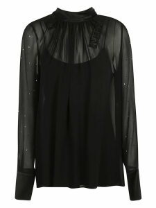Max Mara Double Layered Long-sleeve Top