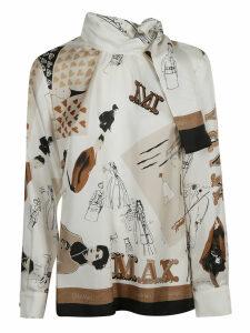 Max Mara Roccio Scarfed Shirt