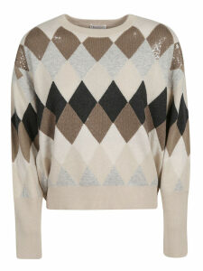 Brunello Cucinelli Sequined Detail Sweater