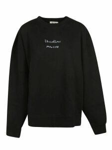 Acne Studios Front Logo Print Sweatshirt