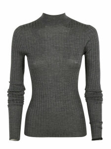 Acne Studios Ribbed Long-sleeved Jumper