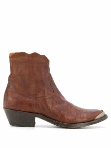 Golden Goose Young cowboy boots - Brown