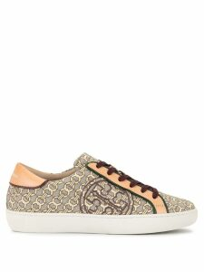 Tory Burch T-logo piped sneakers - Multicolour