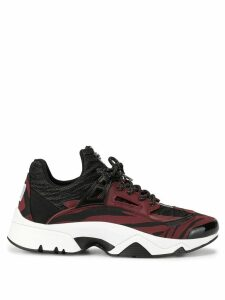 Kenzo Sonic Moire Tiger trainers - Black
