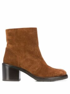 Chie Mihara Odina heeled ankle boots - Brown