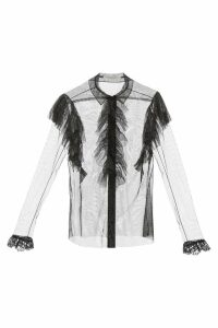 Philosophy di Lorenzo Serafini Glitter Shirt With Lace