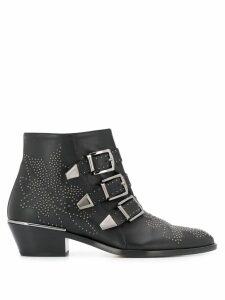 Chloé Susanna studded ankle boots - Black