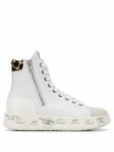 Premiata Edith high top sneakers - White