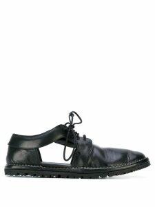 Marsèll cut-out lace-up shoes - Black