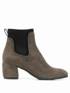 Del Carlo contrast ankle boots - Grey