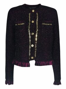 Versace Tweed Cardigan
