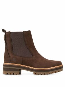 Timberland ridged sole ankle boots - Brown